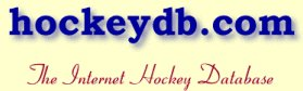 The Internet Hockey Database