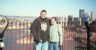 Me & Helen at Duquesne Incline